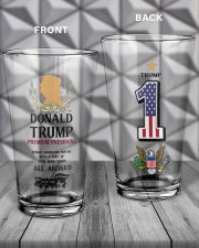 America First 16oz Pint Glass - 2 pieces aos-16oz-pint-glass-lifestyle-front-19