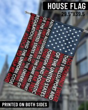 """Limited Edition 29.5""""x39.5"""" House Flag aos-house-flag-29-5-x-39-5-ghosted-lifestyle-09"""