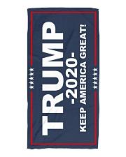 Trump - Keep America Great Beach Towel front