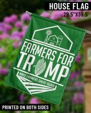 "Farmers For Trump 29.5""x39.5"" House Flag aos-house-flag-29-5-x-39-5-ghosted-lifestyle-14"