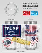 Trump 2020 - Snowflake Removal Service 20oz Tumbler aos-20oz-tumbler-lifestyle-front-60