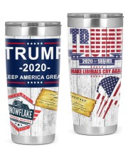 Trump 2020 - Snowflake Removal Service 20oz Tumbler front