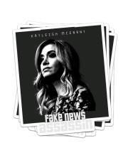 Fake News Assassin Sticker - 4 pack (Vertical) front