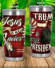 Jesus Is My Savior - Trump Is My President 20oz Tumbler aos-20oz-tumbler-lifestyle-front-53