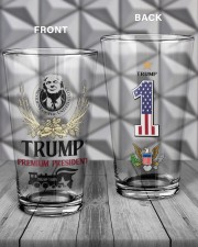 America First - Set Of 2 16oz Pint Glass - 2 pieces aos-16oz-pint-glass-lifestyle-front-19