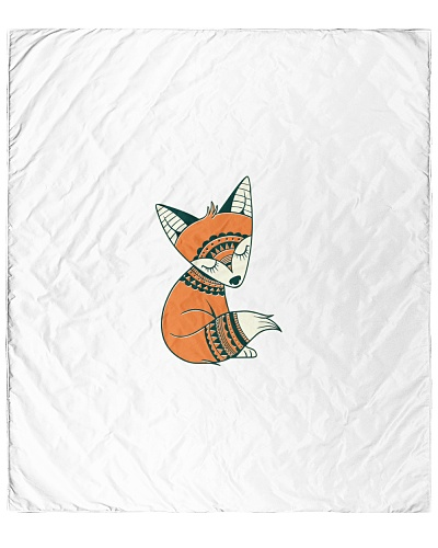 fox cute tribal cartoon animal