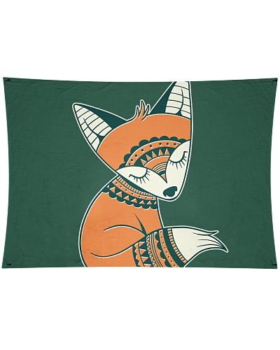 fox cute tribal cartoon animal