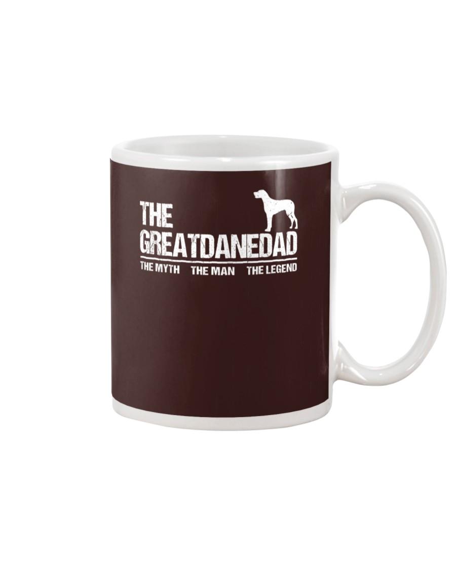 The Great Dane Dad The Myth The Man The Legend Mug