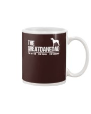 The Great Dane Dad The Myth The Man The Legend Mug front