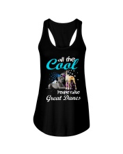 All The Cool People Raise Great Danes Ladies Flowy Tank tile
