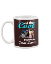 All The Cool People Raise Great Danes Mug back