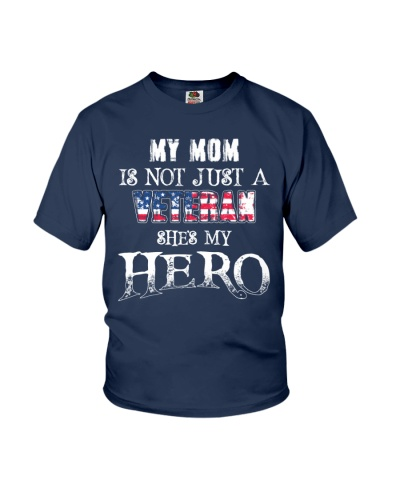 My Mom Is Not Just A Veteran She's My Hero