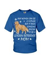 Golden retriever mom Youth T-Shirt thumbnail