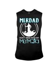 Don't Mess With My Mermaid Sleeveless Tee thumbnail