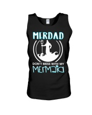 Don't Mess With My Mermaid Unisex Tank thumbnail