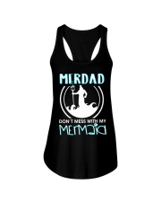 Don't Mess With My Mermaid Ladies Flowy Tank thumbnail
