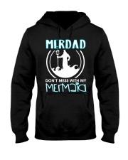 Don't Mess With My Mermaid Hooded Sweatshirt thumbnail