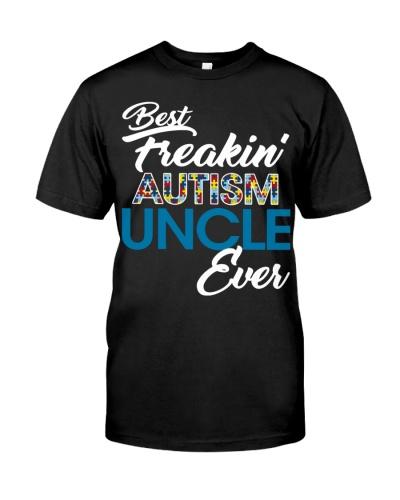 Best Freaking Autism Uncle Ever Autism Awareness