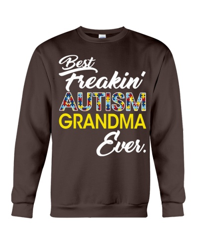 Best Freaking Autism Grandma Ever Autism Awareness
