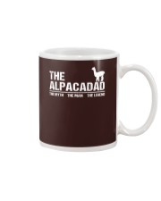 The Alpaca Dad The Myth The Man The Legend Mug front