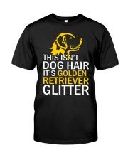 Golden Retriever Glitter Classic T-Shirt front