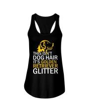 Golden Retriever Glitter Ladies Flowy Tank thumbnail