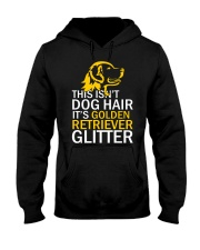 Golden Retriever Glitter Hooded Sweatshirt thumbnail