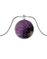 Burlesque Metallic Circle Necklace tile
