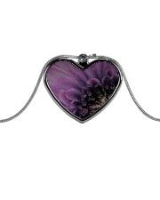 Burlesque Metallic Heart Necklace front
