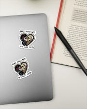1 DAY LEFT - GET YOURS NOW Sticker - 2 pack (Horizontal) aos-sticker-2-pack-horizontal-lifestyle-front-19a