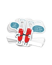 1 DAY LEFT - GET YOURS NOW Sticker - 10 pack (Vertical) front