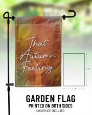 "That Autumn Feeling 11.5""x17.5"" Garden Flag aos-garden-flag-11-5-x-17-5-lifestyle-front-01"