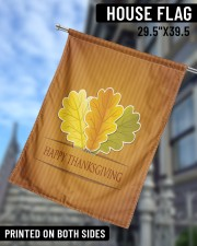 """Happy Thanksgiving 29.5""""x39.5"""" House Flag aos-house-flag-29-5-x-39-5-ghosted-lifestyle-09"""