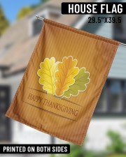 """Happy Thanksgiving 29.5""""x39.5"""" House Flag aos-house-flag-29-5-x-39-5-ghosted-lifestyle-11"""