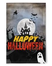 """Happy Halloween 11.5""""x17.5"""" Garden Flag front"""