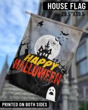 "Happy Halloween 29.5""x39.5"" House Flag aos-house-flag-29-5-x-39-5-ghosted-lifestyle-09"