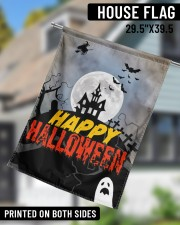 "Happy Halloween 29.5""x39.5"" House Flag aos-house-flag-29-5-x-39-5-ghosted-lifestyle-11"