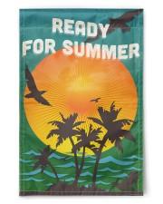 "Ready for Summer Flag 11.5""x17.5"" Garden Flag front"