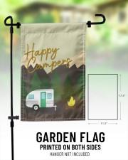 "Happy Camper Day 11.5""x17.5"" Garden Flag aos-garden-flag-11-5-x-17-5-lifestyle-front-01"
