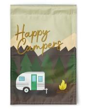 """Happy Camper Day 11.5""""x17.5"""" Garden Flag front"""
