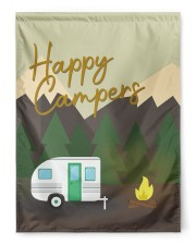"""Happy Camper Day 29.5""""x39.5"""" House Flag front"""