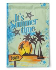 "Summer Time Flags 11.5""x17.5"" Garden Flag front"