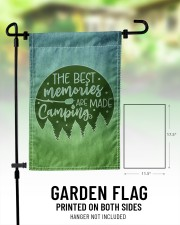 """Camping Memories 11.5""""x17.5"""" Garden Flag aos-garden-flag-11-5-x-17-5-lifestyle-front-01"""