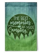 "Camping Memories 11.5""x17.5"" Garden Flag front"