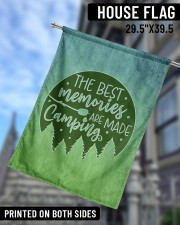 """Camping Memories 29.5""""x39.5"""" House Flag aos-house-flag-29-5-x-39-5-ghosted-lifestyle-09"""