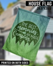 """Camping Memories 29.5""""x39.5"""" House Flag aos-house-flag-29-5-x-39-5-ghosted-lifestyle-11"""