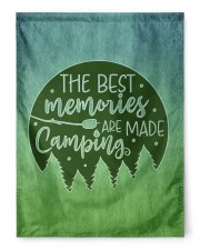 """Camping Memories 29.5""""x39.5"""" House Flag front"""