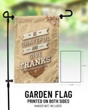 """Be Grateful - Thanksgiving 11.5""""x17.5"""" Garden Flag aos-garden-flag-11-5-x-17-5-lifestyle-front-01"""