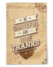 "Be Grateful - Thanksgiving 11.5""x17.5"" Garden Flag front"