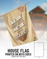 """Be Grateful - Thanksgiving 29.5""""x39.5"""" House Flag aos-house-flag-29-5-x-39-5-ghosted-lifestyle-01"""